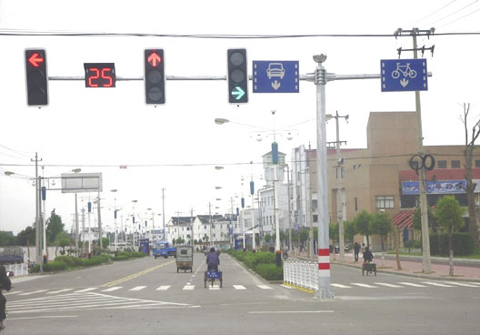 道路交通信号灯方案(十字路口)